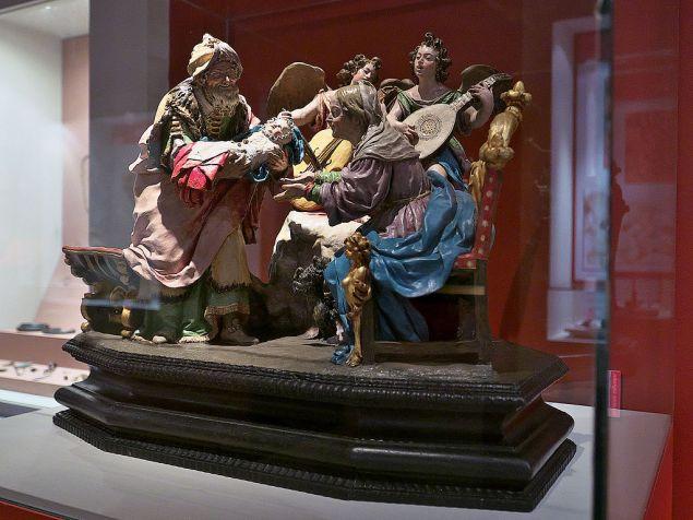 Luisa Roldán. Sagrada familia. Museo de Guadalajara