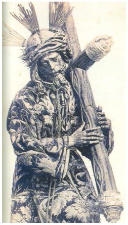 Juan de Mesa. Jesús del Gran Poder. 1620. Foto antigua