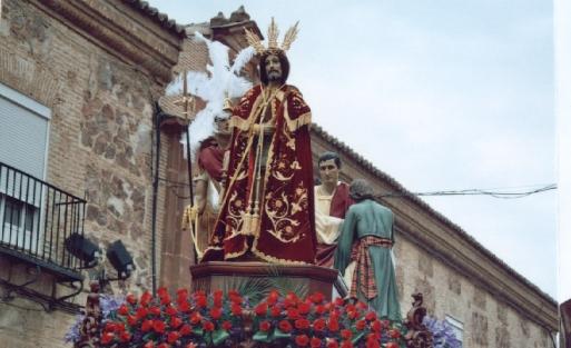 Cristo de la Misericordia. Herencia (Ciudad Real) foto del autor en 2006
