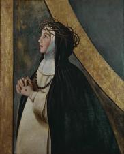 Juan Bautista Maíno. Santa Catalina de Siena. Museo del Prado
