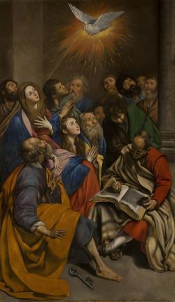 Juan Bautista Maíno. Pentecostés. Museo del Prado.