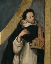 Juan Bautista Maíno. Santo Domingo. Museo del Prado.