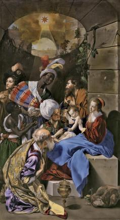 Juan Bautista Maíno. Adoración de los Reyes Magos. Museo del Prado