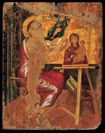 El Greco. San Lucas pintando a la Virgen. foto: wikipedia