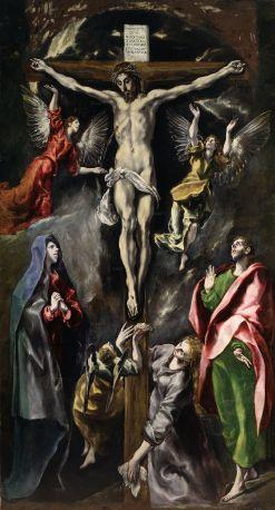 El Greco. Crucifixión. Museo del Prado. foto: wikipedia