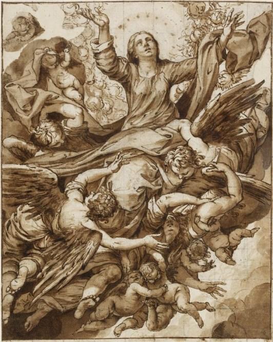 Asunción de la Virgen. British Museum. Londres