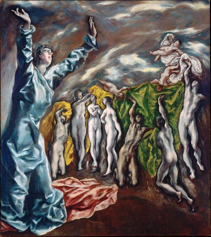 El Greco. Visión de San Juan. foto: wikipedia