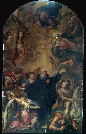 """Apoteosis de San Agustín. San Francisco """"el Grande"""" (depósito del Museo del Prado) Madrid"""