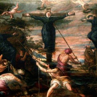 Mártires jesuitas del Japón. Colegiata de San Isidro. Madrid.