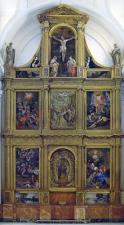 Propuesta de reconstrucción del Retablo de San Pedro Mártir en Toledo, con las pinturas de Juan Bautista Maíno. Foto: dominicos.org