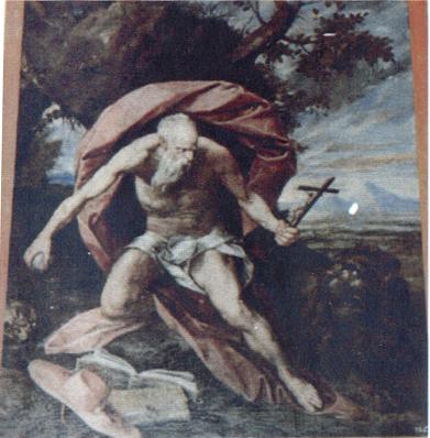 San Jerónimo. Monasterio de El Escorial.