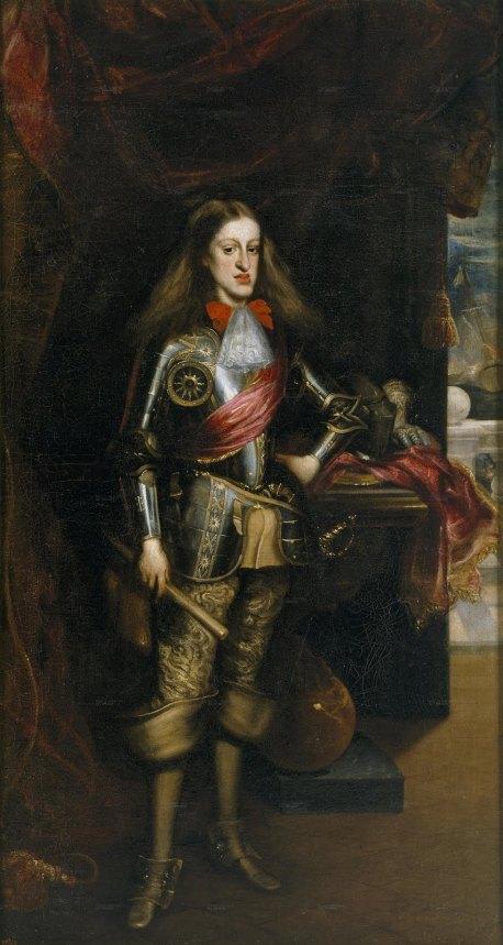 Juan Carreño de Miranda. Carlos II con armadura. 1681. Museo del Prado