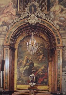 Luca Giordano. Retablo de Santa Ana.