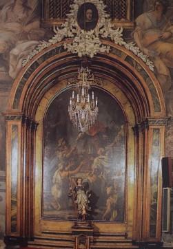 Luca Giordano. Retablo de San Carlos Borromeo
