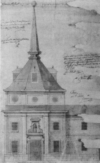 Pedro Sánchez. Fachada exterior de la iglesia de San Antonio. Hermandad del Refugio. Madrid.