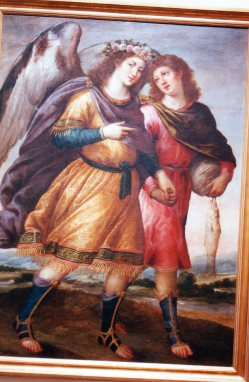 Bartolomé Román. San Rafael. Museo de Guadalajara. Foto: @cipripedia