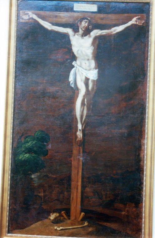 Luis Tristán. Cristo Crucificado. Museo de Guadalajara. Foto: @cipripedia