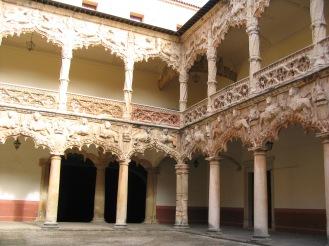Palacio del Infantado. Guadalajara. Patio interior.