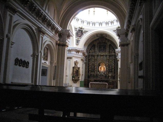 Ermita de la Virgen de los Ángeles. Getafe. Interior