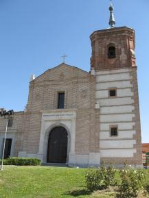 Ermita de la Virgen de los Ángeles. Getafe. Fachada de los pies