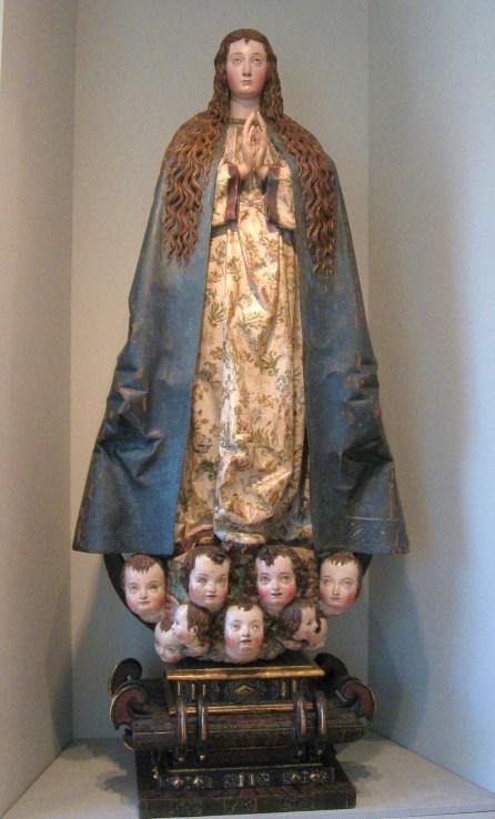 Escuela Castellana (taller de Gregorio Fernández) Inmaculada Concepción. Museo Nacional de Escultura de Valladolid