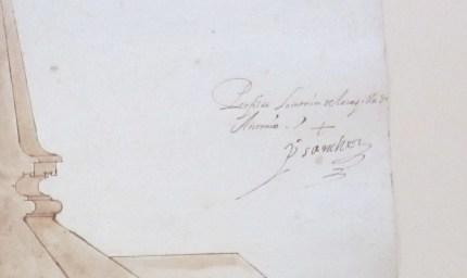 Detalle de la firma de Pedro Sánchez
