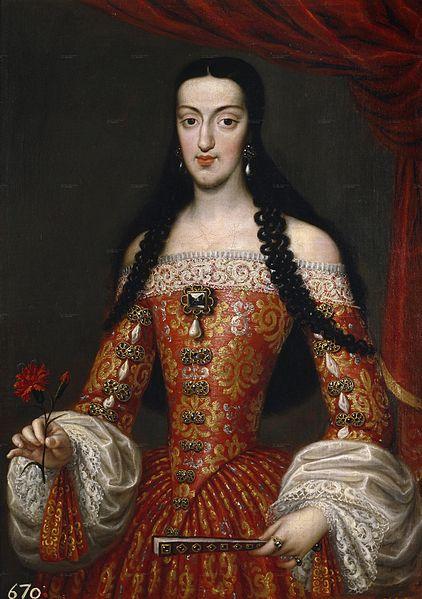 José García Hidalgo. María Luisa de Orleans. 1679. Museo del Prado