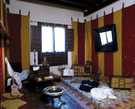 Estrado de Damas (reconstrucción moderna). Casa Museo de Cervantes. Alcalá de Henares. Foto: http://www.museocasanataldecervantes.org