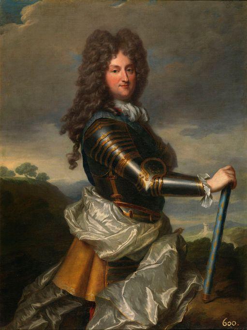 Jean Baptiste Santerre. Felipe de Orleans. ca. 1715. Museo del Prado