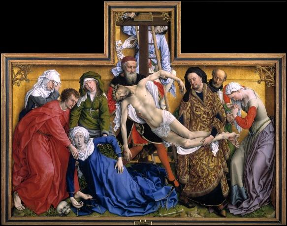 Rogier van der Weyden. Descendimiento. Museo del Prado.