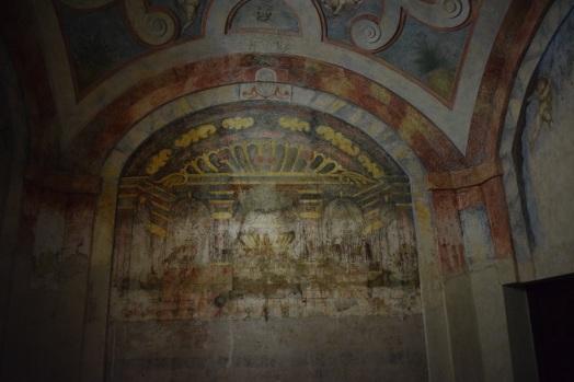 Detalle de las pinturas murales
