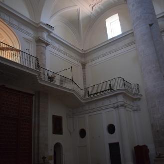 Coro nuevo a los pies de la catedral