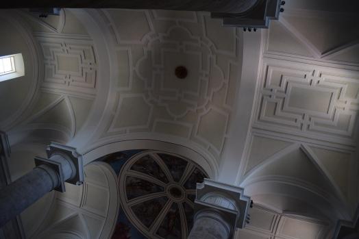 Detalle de las bóvedas. Catedral de Getafe.