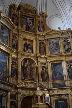 detalle del retablo