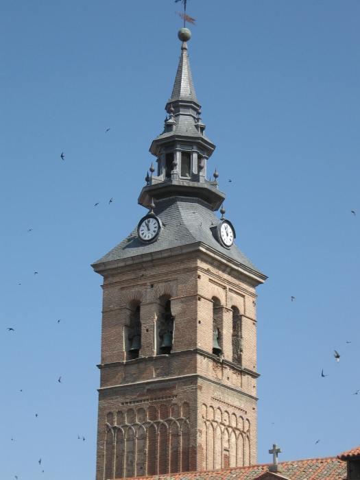 Francisco Bautista (traza). Chapitel de la torre de la iglesia de la Asunción. ca. 1658. Navalcarnero