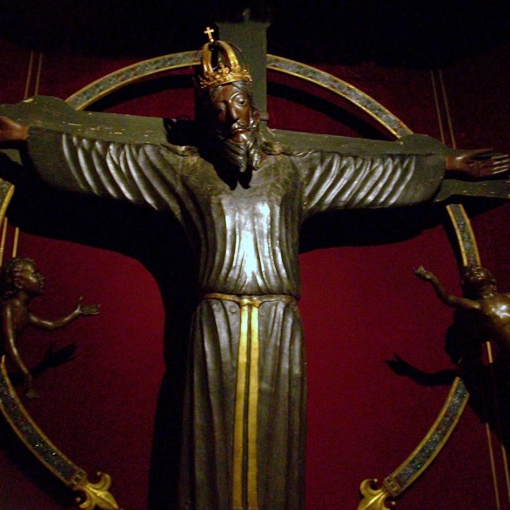 Volto Santo de Lucca. s. X.II. Foto: wikipedia