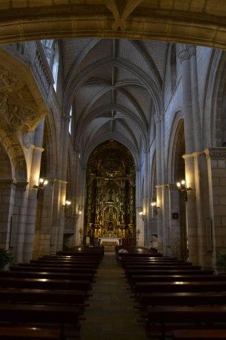 Iglesia de Torrelaguna. Vista interior. foto: Jesús C. V.