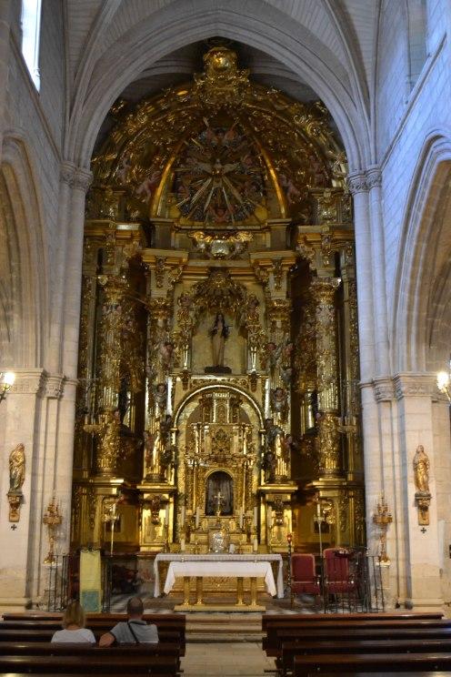 Iglesia de Torrelaguna. Retablo mayor. foto: Jesús C. V.