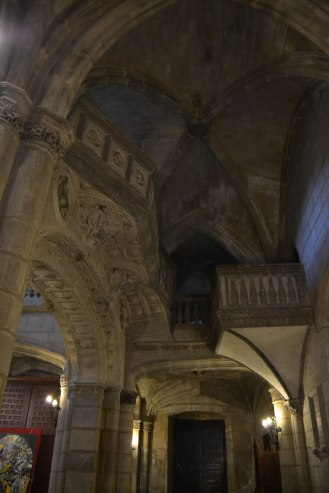 Iglesia de Torrelaguna. Vista interior (detalle del coro). foto: Jesús C. V.