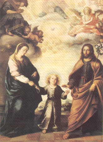 Bartolomé Esteban Murillo. Las trinidades. National Museum. Estocolmo.