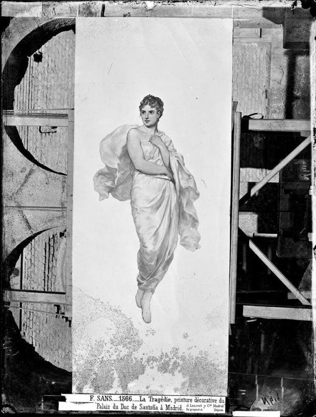J. Laurent y Cía. Pinturas del palacio de Santoña. Archivo Ruiz Vernacci. foto: IPCE