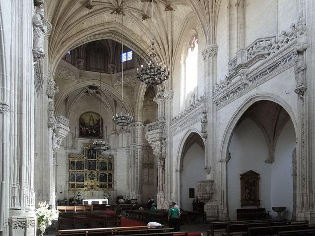 Juan Guas. San Juan de los Reyes. Vista interior. Toledo. Foto: Bgag (wikimedia commons)