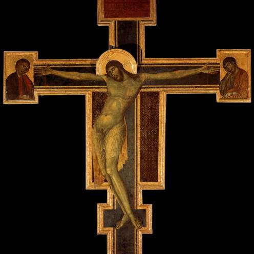 Cimabue. Cristo crucificado. ca. 1280. Iglesia de Sta. Croce. Florencia.