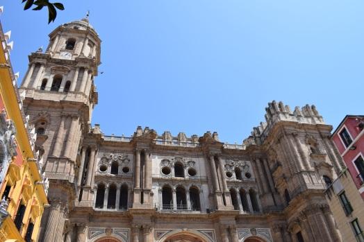 José de Bada. Parte superior de la fachada oeste de la Catedral de M