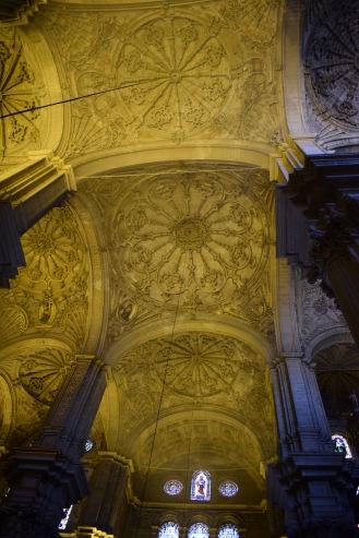 Bóvedas del crucero.