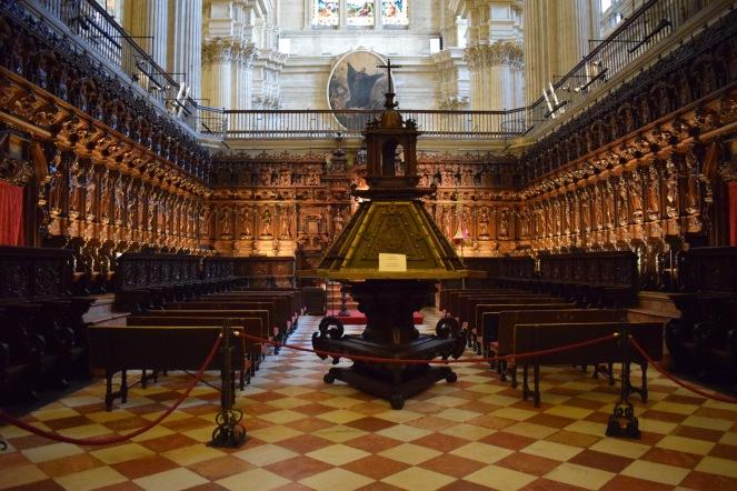 Pedro de Mena y otros. Coro de la catedral.