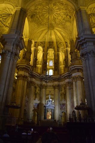 Altar mayor de la Catedral de Málaga.