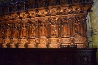 Pedro de Mena. Coro de la Catedral de Málaga.