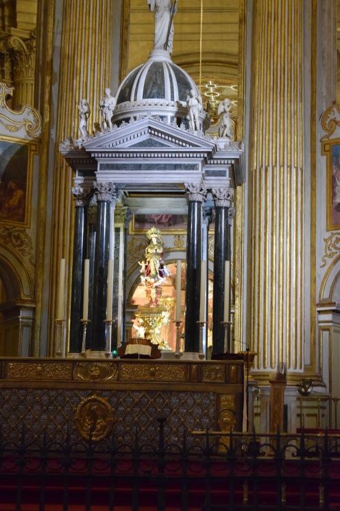 Tabernáculo del Altar mayor.