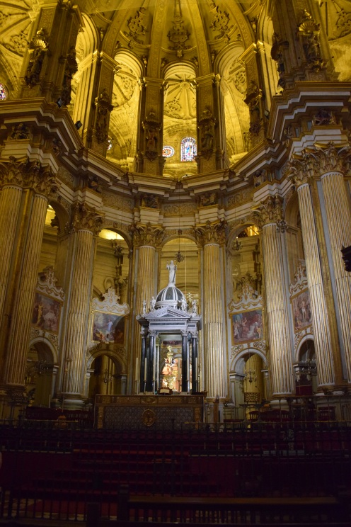 Altar Mayor con el tabernáculo